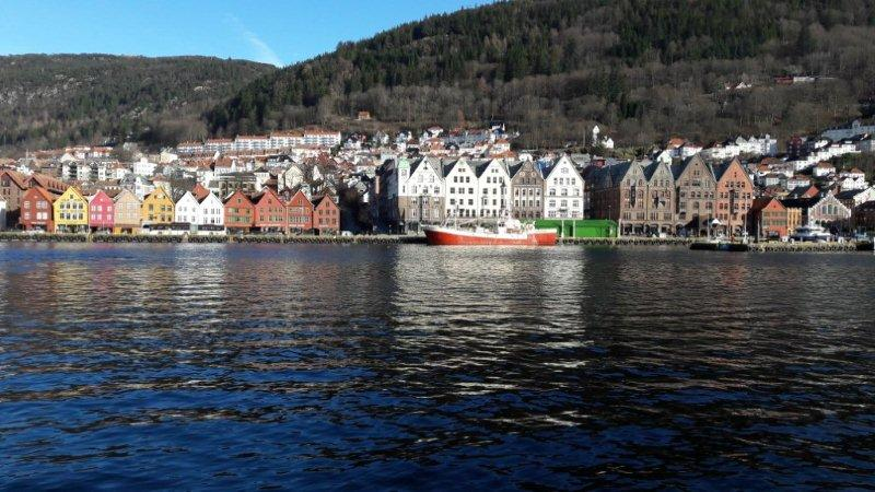bergen in norwegen wetter